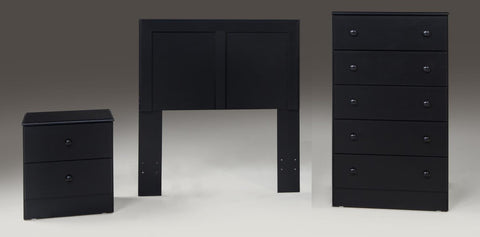 Black Nightstand