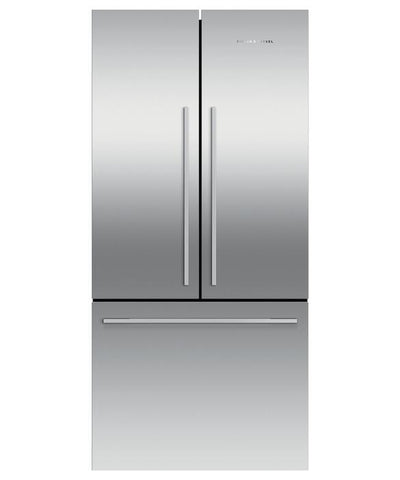 Fisher & Paykel 17-cu ft Counter-Depth French Door Refrigerator Stainless