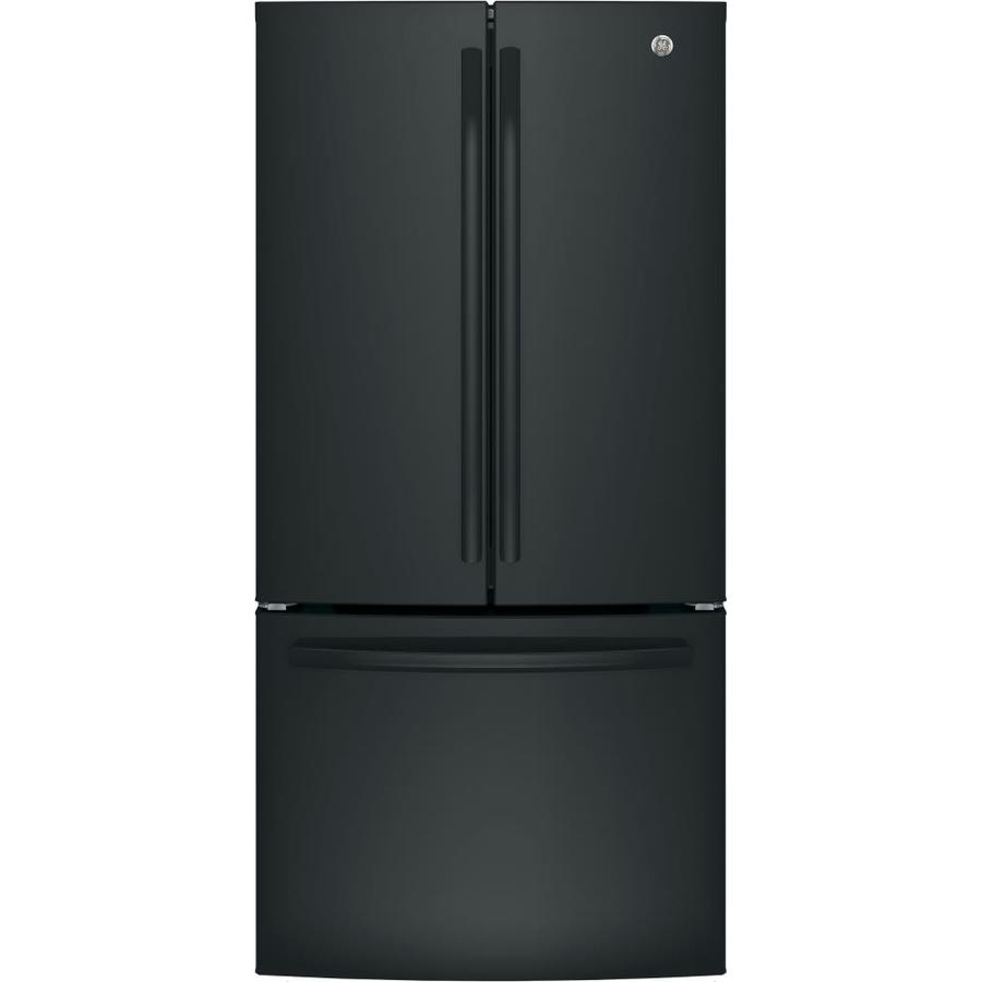 "Refrigerator - French Door/Bottom Freezer 32-33"" Wide Black"