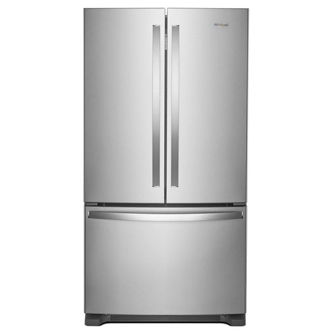 "Refrigerator - French Door/Bottom Freezer 35-38"" Wide Stainless Steel"