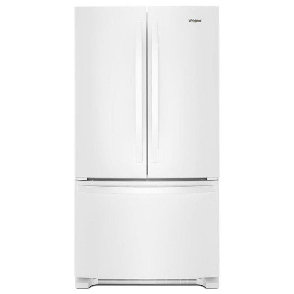 "Refrigerator - French Door/Bottom Freezer 35-38"" Wide White"