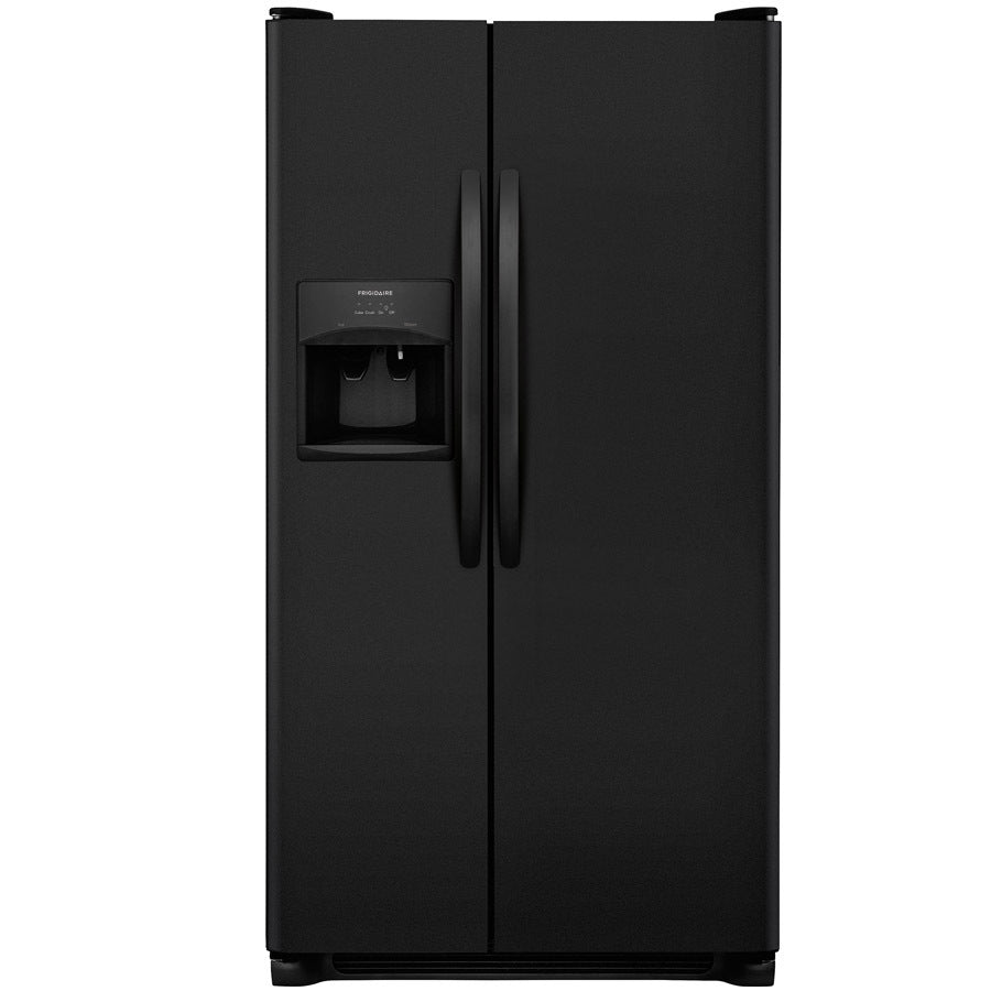 Refrigerator - Side by Side Black