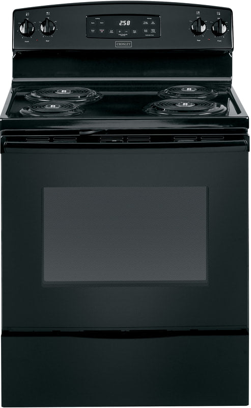 "Crosley 5.3 30"" Electric Range, Black"