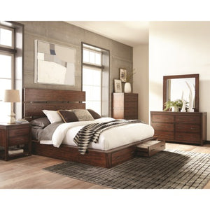 Scott Living Matheson Storage Bed Set - King