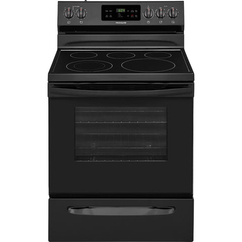 Frigidaire Smooth Surface 5-Element 5.3-cu ft Electric Range Black