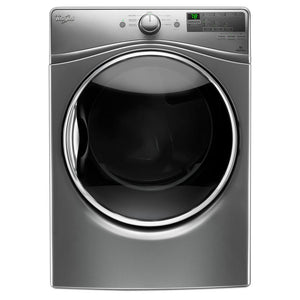Whirlpool 7.4 cu. ft. 240-Volt Stackable Chrome Shadow Electric Vented Dryer
