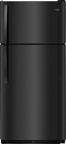 Frigidaire 18 cu ft Top Freezer Black