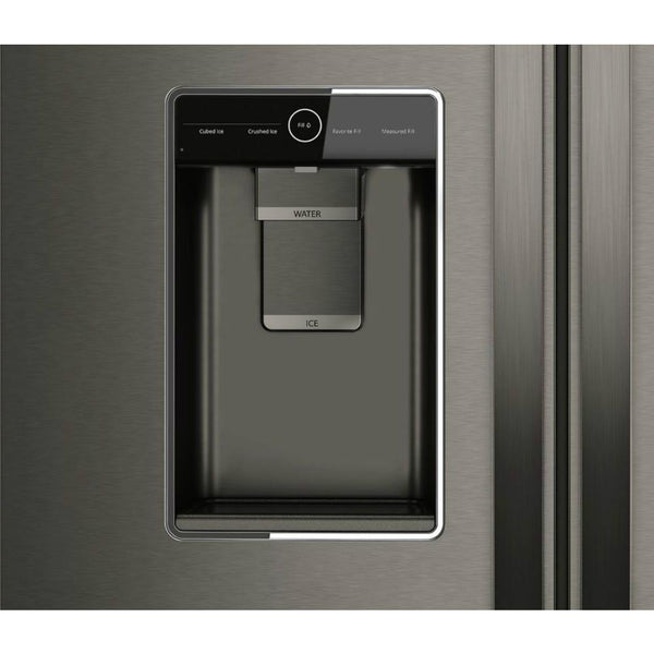 Whirlpool 24 cu. ft. French Door Refrigerator in Black Stainless