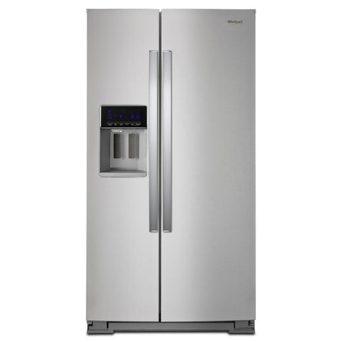 Whirlpool 28 cu ft Side by Side Stainless Steel