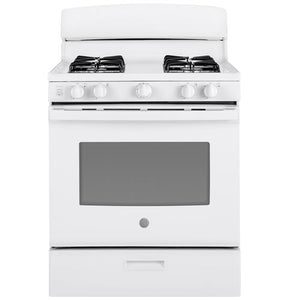 "*NEW* GE 30"" 4.8 Cu.Ft. Gas Stove-White"