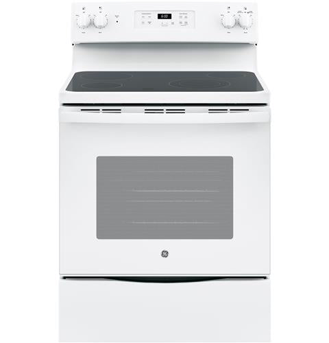 "*NEW* GE 30"" 5.3 Cu.Ft. Electric Stove-White"