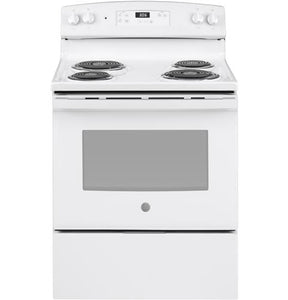 "*NEW* GE 30"" 5.0 Cu.F.t Electric Stove-White"