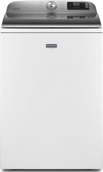 Maytag 5.2-cu ft Top-Load Washer (White)