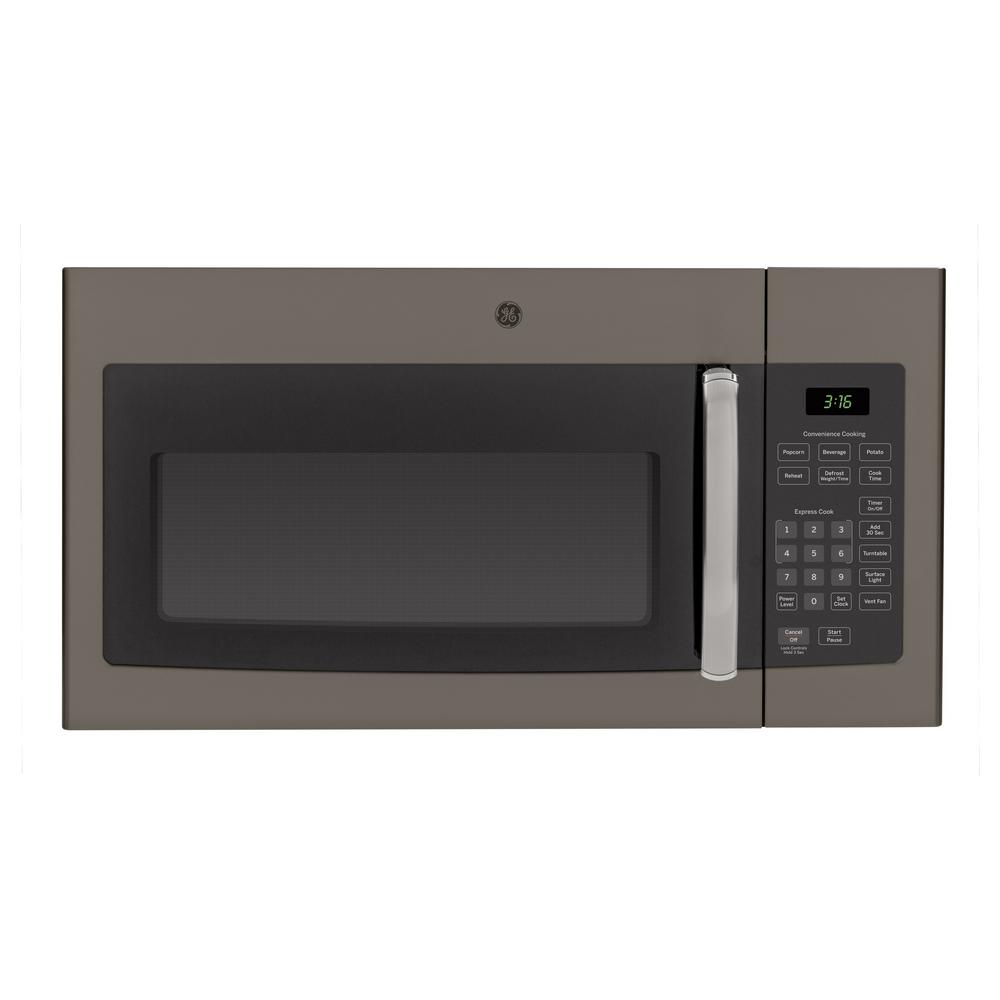 GE Cafe 1.7 cu ft Over the Range Microwave Black Slate