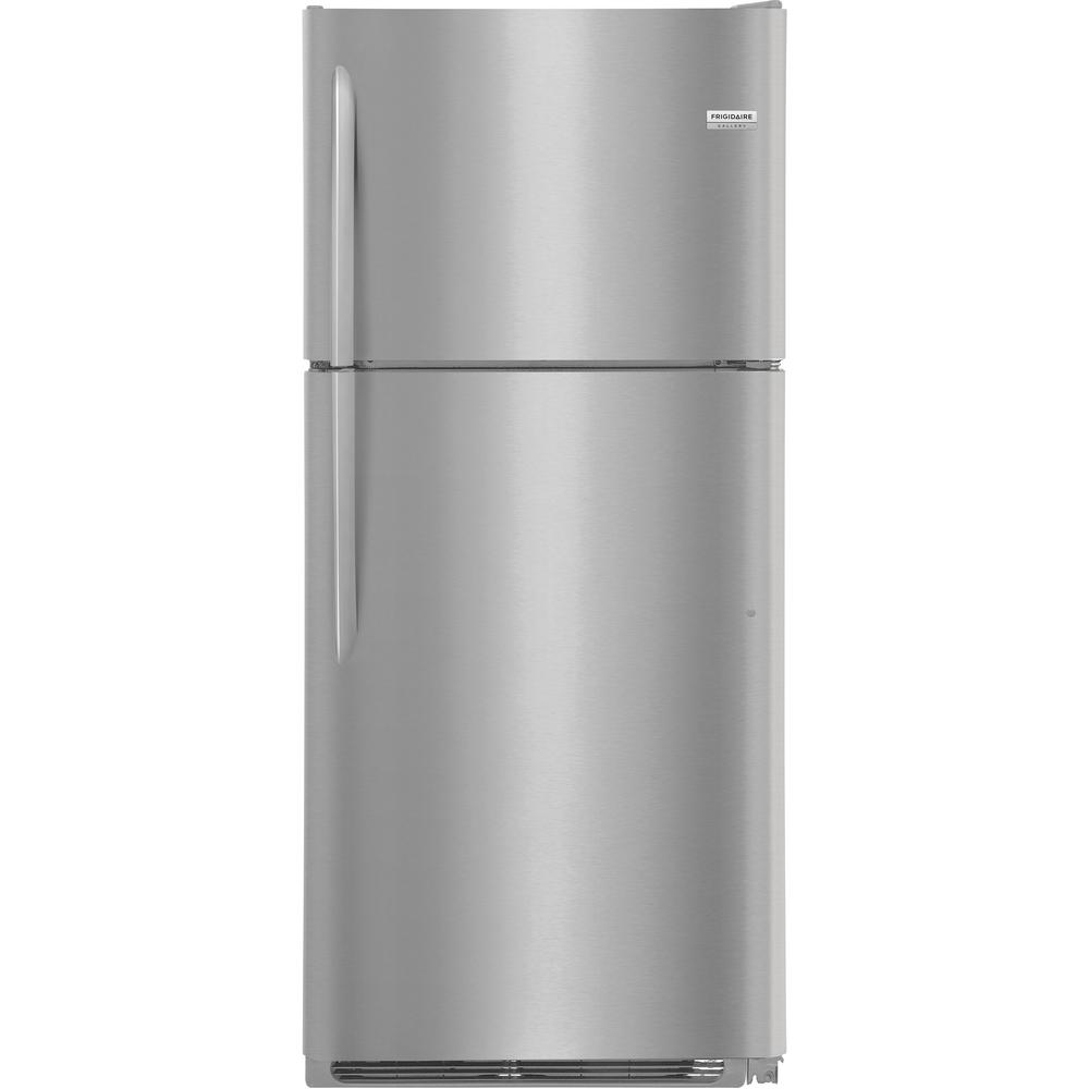 Frigidaire 20.4 cu ft Top Freezer (Smudge Proof Stainless steel)
