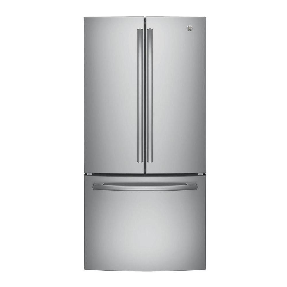GE 24.7 cu. ft. French Door Refrigerator in Stainless Steel