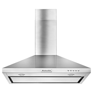 KitchenAid 36 in. Convertible Wall Mount Range Hood in Stainless Steel