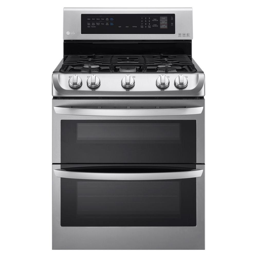 LG 6.9 cuft Double Oven Gas Range