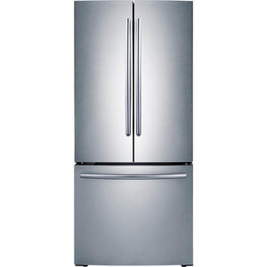 Samsung 21.8-cu ft French Door Refrigerator Stainless Steel