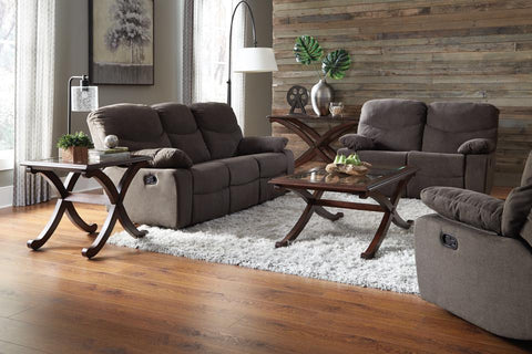 Standard Living Sofa, Loveseat, Recliner Set