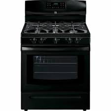 Stove/Range - Gas Black