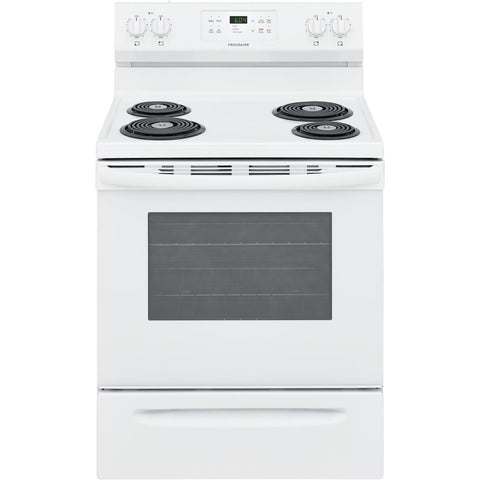 Frigidaire 5.3-cu ft Self-Cleaning Electric Range White