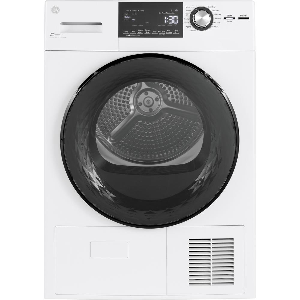 GE 4.1 cu ft Ventless Electric Dryer (white)