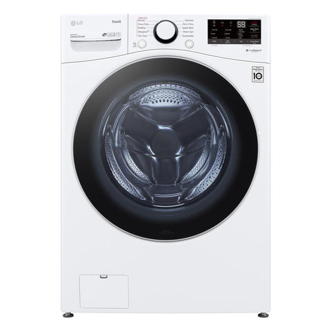 LG 4.5 cu. ft. Ultra Large Capacity White Front Load Washer