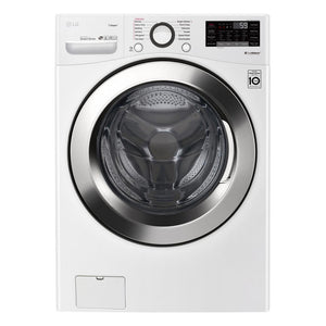 LG 4.5-cu ft High Efficiency Front-Load Washer White