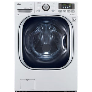 LG 4.3-cu ft White All in One Washer Dryer Combo