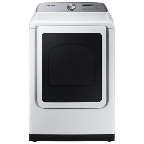 Samsung 7.4 cu ft Dryer White