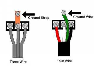 Dryer 4 wire 4 ft cord