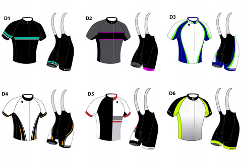 Zaavy Apparel Custom Cycling Jersey Designs Examples