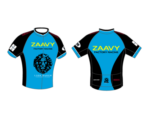 Zaavy Factory Racing Men's Aero Race Jersey