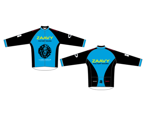 Zaavy Men's Long Sleeve Club Jersey - Zaavy Factory Racing