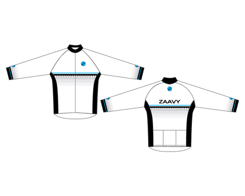 Zaavy Women's Long Sleeve Race Jersey - Signature Collection