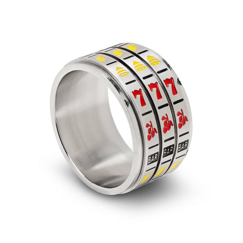 Lucky Spinner Ring, Slots, Size 11
