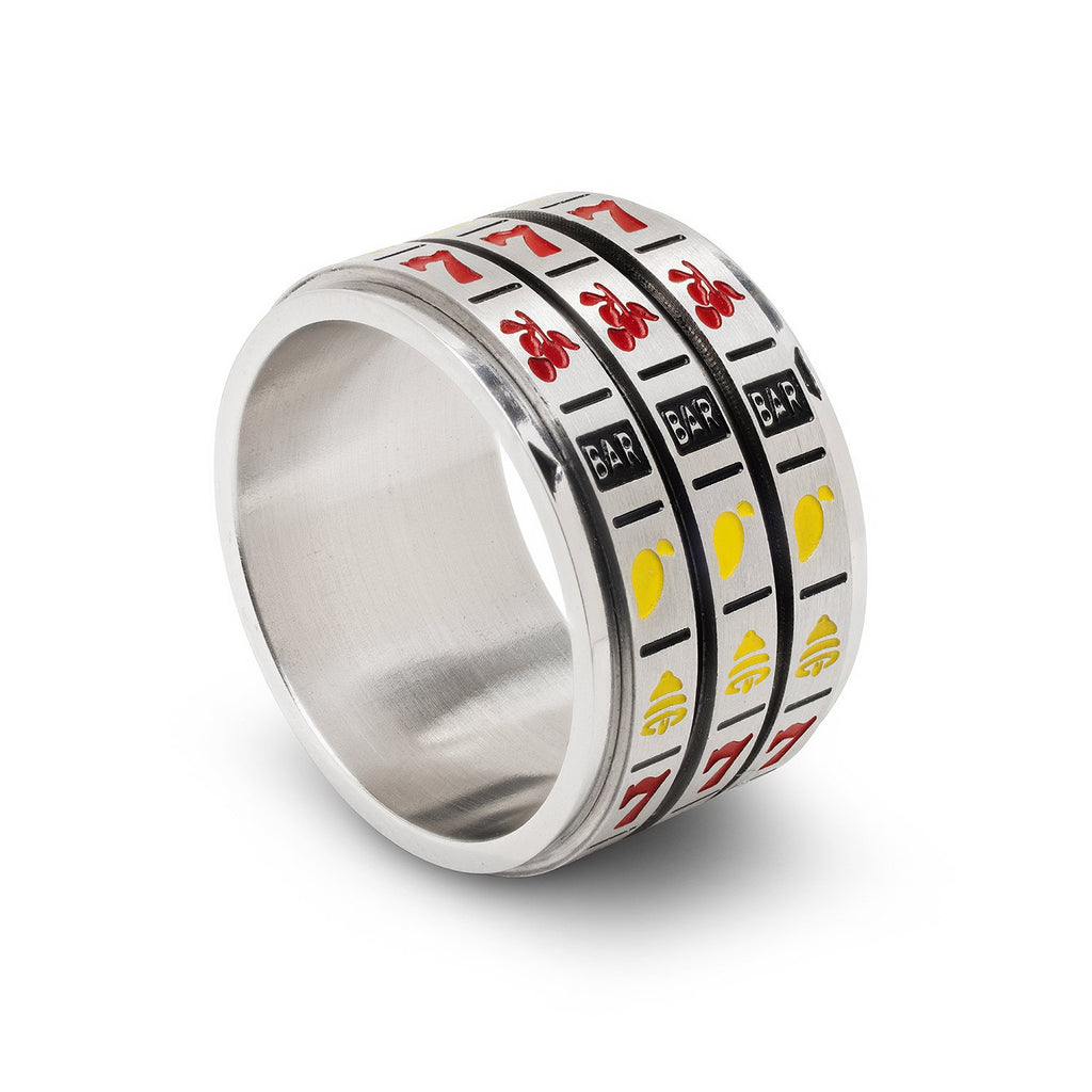 Lucky Spinner Ring, Slots, Size 12