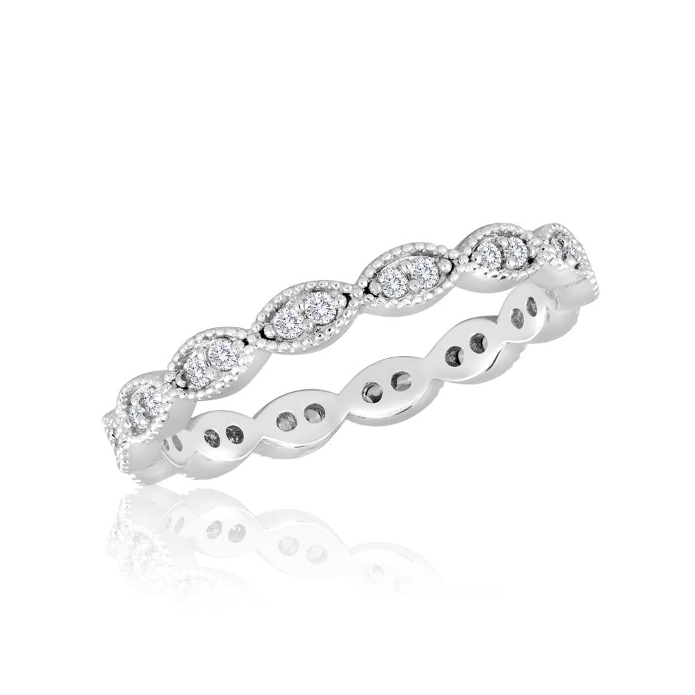 STK22-4 [Size 6-9]  -  Stack Ring, Endless Oval