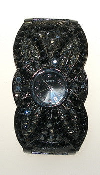 Crystal, Black CZ, European