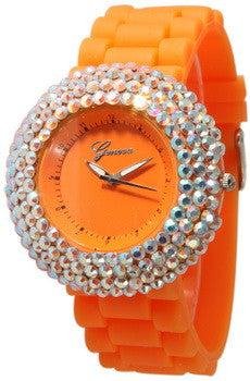 Fashion Watch, Crystal Fantasy Orange