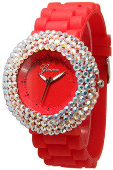Fashion Watch, Crystal Fantasy Red