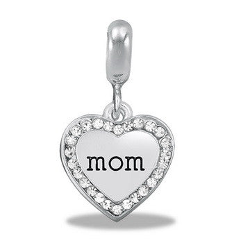 Mom Heart, Dangle, Set/2