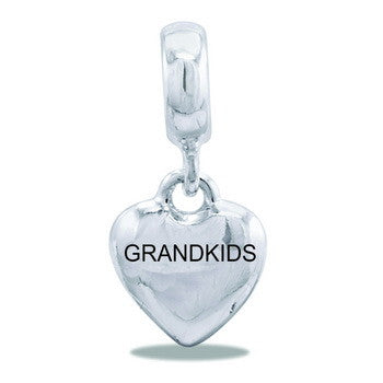 Dangle Heart, Grandkids, Set/2