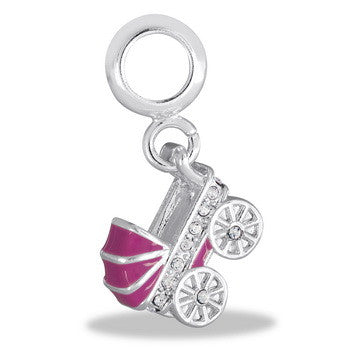 Dangle, Pink Carriage, Set/2