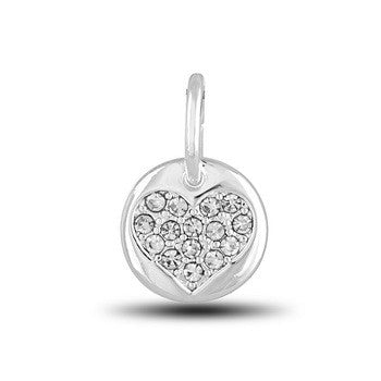 DBI Dangle, CZ Heart, Set/2