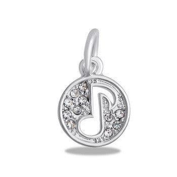 Charm, Cutout, Music Note, Set/2