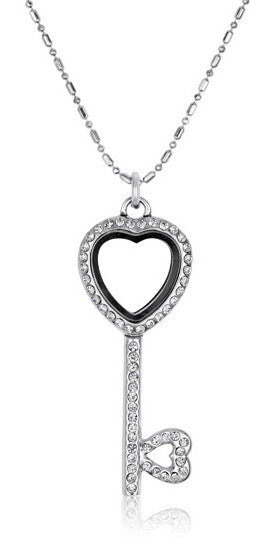 Key To My Heart Necklace, Set/3