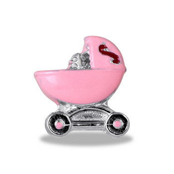 Charm, Baby Buggy Pink, SET/3