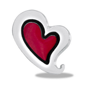 Charm, Red Heart, Set/3